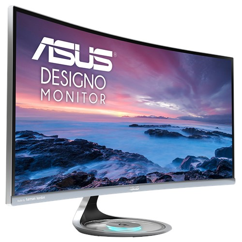 ASUS Designo Curve MX34VQ - monitor, Bakıda kompüter avadanlığı satışı
